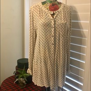 Free People Magic Tunic Pullover Blouse
